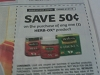 15 Coupons $.75/1 Jif Bars 5pk 12/27/2015