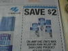 15 Coupons $.75/6 or more Rolls Scott Towels 7/24/2016