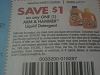 15 Coupons $1/1 Arm & Hammer Liquid Detergent 6/7/2017