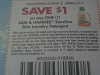 15 Coupons $1/1 Arm & Hammer Sensitive Skin Laundry Detergent 6/7/2017