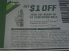 15 Coupons $1/1 Right Guard Xtreme Precision Dry Spray 5/21/2017