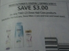 15 Coupons $3/2 Dove Hair Care Products 5/20/2017