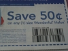 15 Coupons $.50/1 Wonderful Halos 6/7/2017