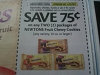 15 Coupons $.75/2 Newton's Fruit Chewy Cookies 10oz+ 6/24/2017