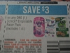 15 Coupons $3/1 Schick Disposable (no 1ct) 6/4/2017