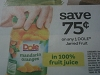 15 Coupons $.75/1 Dole Jarred Fruit 6/30/2017