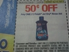 15 Coupons $.50/1 Finish Jet Dry Rinse Aid 6/25/2017