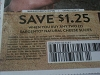 15 Coupons $1.25/2 Sargento Natural Cheese Slices 6/25/2017