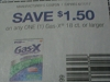15 Coupons $1.50/1 Gas x 18ct 6/11/2017