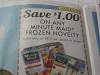 15 Coupons $1/1 Minute Maid Frozen Novelty 24 floz 8/4/2017