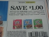 15 Coupons $1/1 Apple Cinnamon Toast Crunch or Strawberry Blueberry or French Cereal 9/2/2017