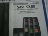 15 Coupons $2/2 Dove Men+Care Hair Care 8/20/2017