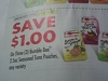 15 Coupons $1/3 Bumble Bee 2.5oz Seasoned Tuna Pouch 9/30/2017