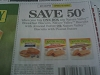 15 Coupons $.50/1 Nature Valley Breakfast Biscuits 10/14/2017