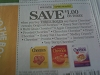 15 Coupons $1/3 Cheerios Cereals 9/30/2017