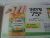 15 Coupons $.75/1 Dole Jarred Fruit 10/31/2017