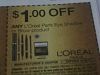 15 Coupons $1/1 Loreal Paris Eye Shadow or Brow 9/16/2017