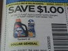 15 Coupons $1/1 Purex Liquid or Powder Laundry Detergent or Crystals Scent Booster 18oz 12/31/2017  AT DOLLAR GENERAL