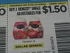 15 Coupons $1.50/2 Renuzit Single Adjustables 12/31/2017 AT DOLLAR GENERAL