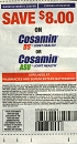 15 Coupons $8/1 Cosamin Ds or Asu Joint Health 7/9/2019