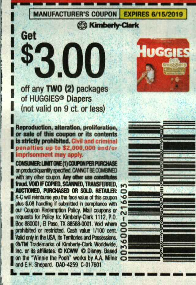 This is a photo of Transformative Printable Huggie Diaper Coupons