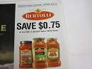 15 Coupons $.75/1 Bertolli Red or White Sauce 4/20/2019