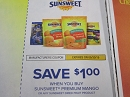15 Coupons $1/1 SunSweet Premium Mango 5/30/2019
