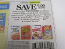 15 Coupons $1/2 General Mills Cereal Cinnamon Toast Crunch Lucky Charms 5/11/2019