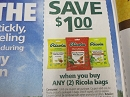 15 Coupons $1/2 Ricola bags 4/30/2019