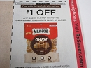 15 Coupons $1/1 Milk Bone Gnawbones Dog Treats 7.2oz DND 5/19/2019