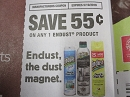 15 Coupons $.55/1 Endust 5/19/2019