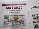 15 Coupons $.50/1 Vanity Fair Napkins 5/7/2019