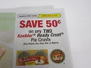 15 Coupons $.50/2 Keebler Ready Crust Pie Crusts 5/15/2019