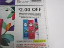15 Coupons $2/2 Herbal Essences Shampoo Conditioner or Styling 4/20/2019