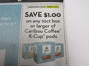 15 Coupons $1/1 Caribou Coffee K Cup Pods 10ct+ 7/14/2019