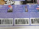 15 Coupons $2/1 Almay Eyeshadow + $2/1 Almay Mascare Eyeliner or Brow + $2/1 Almay Lip 5/4/2019