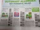 15 Coupons $4/1 Zyrtec 24-45ct + $1/1 Benadryl 4/27/2019 + $10/1 Zyrtec 70ct or Rhinocort 4/20/2019