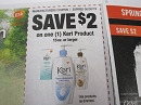15 Coupons $2/1 Keri 15oz 6/30/2019