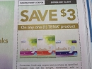 15 Coupons $3/1 Tena 5/19/2019