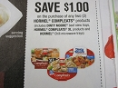 15 Coupons $1/2 Hormel Compleats 7/1/2019