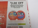 15 Coupons $3/1 Tide Pods 2/9/2019