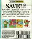 15 Coupons $1/2 Betty Crocker Fruit Shapes 8/3/2019