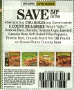 15 Coupons $.50/2 Nature Valley Granola Bars 8/3/2019
