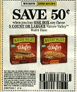15 Coupons $.50/1 Nature Valley Wafer Bars 8/31/2019