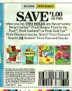 15 Coupons $1/2 Betty Crocker Fruit Shapes 9/28/2019