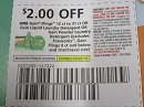 15 Coupons $2/1 Gain Flings 12 to 31ct or Gain Liquid Laundry Detergent or Gain Powder Laundry Detergent 9/7/2019