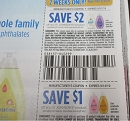 15 Coupons $2/1 Johnson's Product 8/31/2019 + $1/1 Johnson's Product 9/14/2019