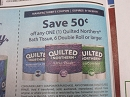 15 Coupons $.50/1 Quilted Northern Bath Tissue 6 Double Roll 9/18/2019