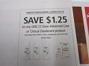 15 Coupons $1.25/1 Dove Advanced Care or Clinical Deodorant 8/31/2019