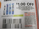 15 Coupons $1/1 Oral B Adult Manual Toothbrush 9/7/2019